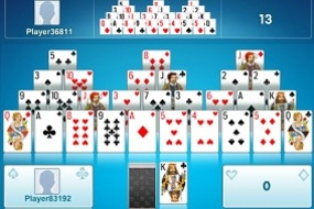 pyramide solitaire duel